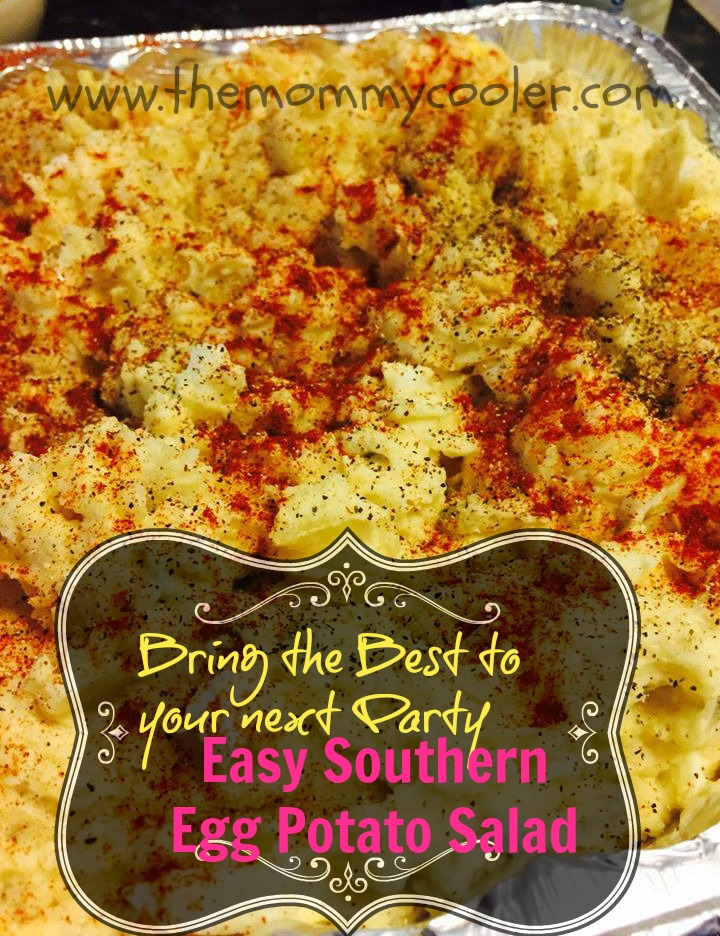 Make this for your Next Gathering: Easy Southern Style Potato Egg Salad