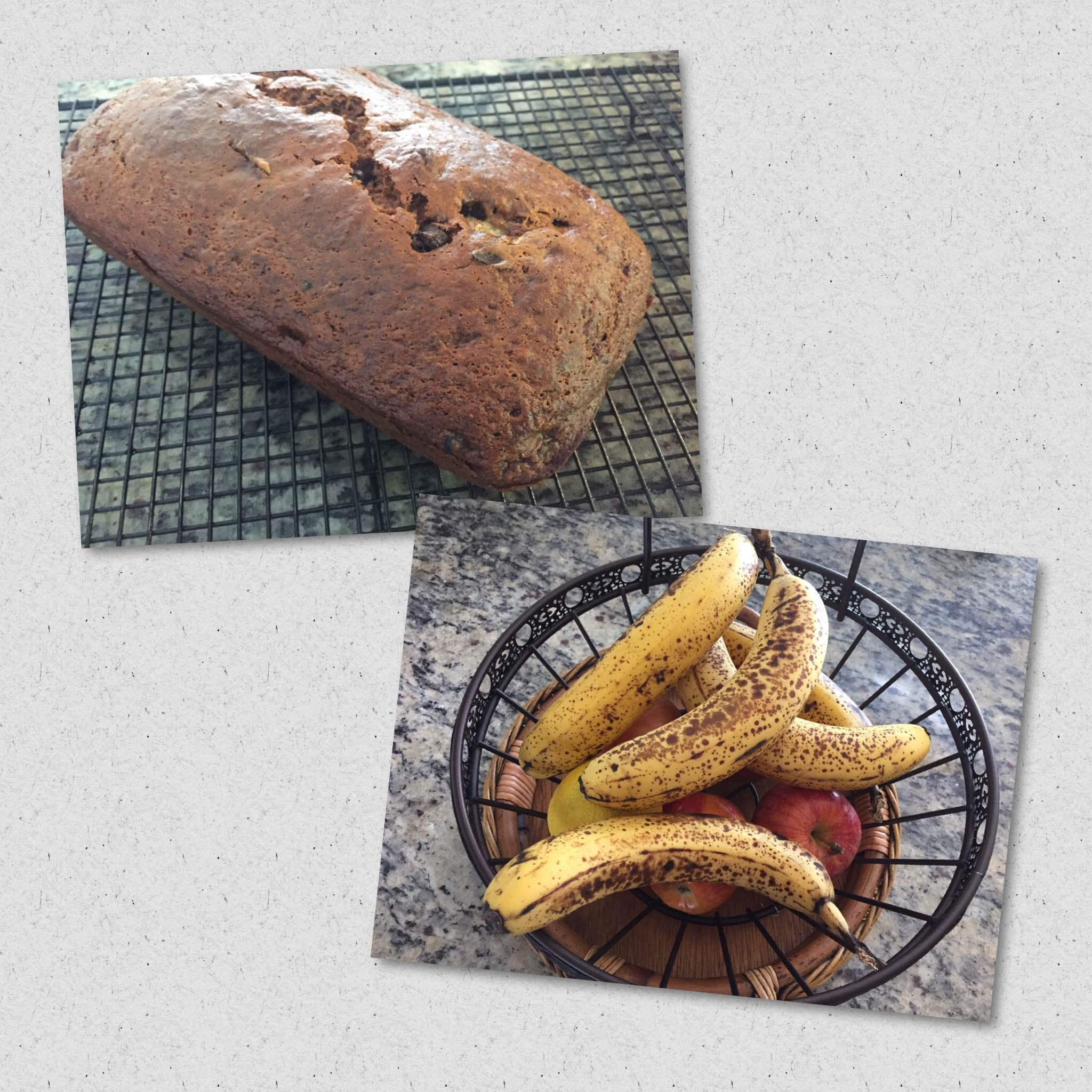 Are your banana's to Ripe? Make this Easy Gluten-Free Chocolate Chip Banana Bread!