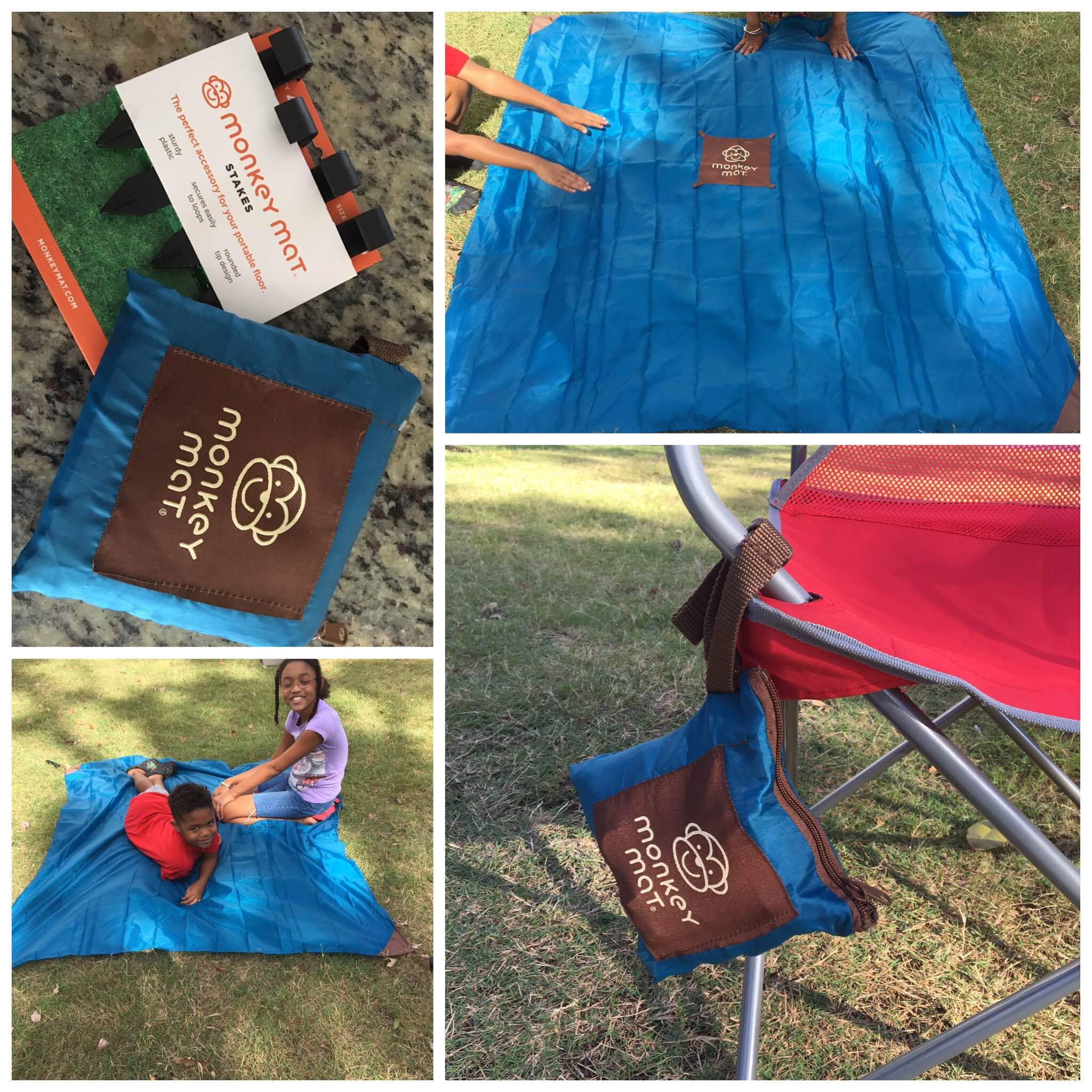 Floor mats on shark tank - I Am All About Making It Easy When It Comes To Going To The Park Beach For Even The Backyard With The Little S Monkey Mat Is A Fun Compact And Portable