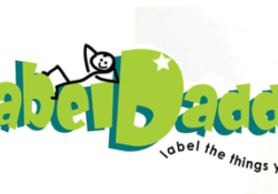 Its not to late to get kids thinking to get organized with Label Daddy!