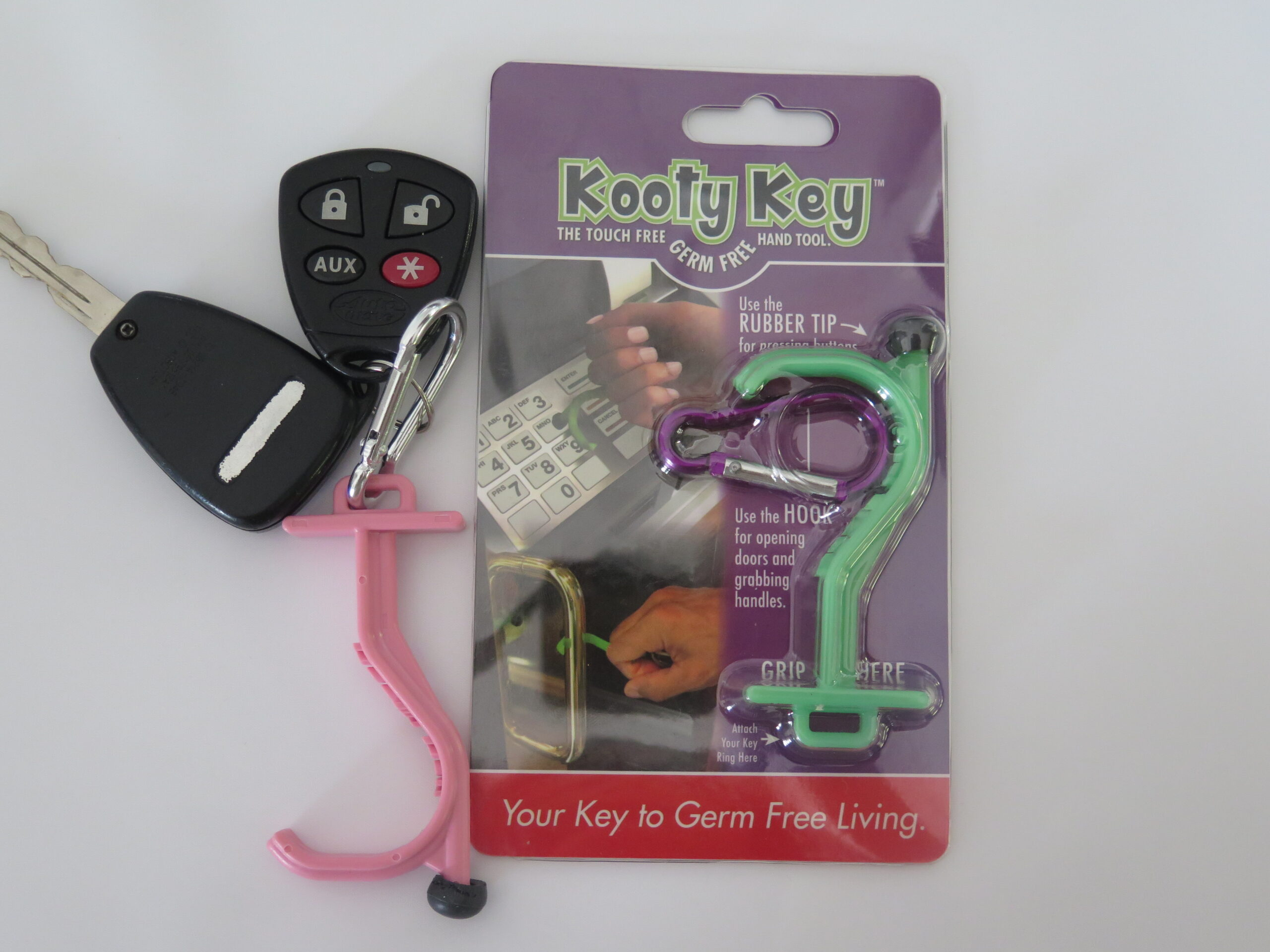 A Mother's Weapon: The Kooty Key-The Germ-Free Tool!