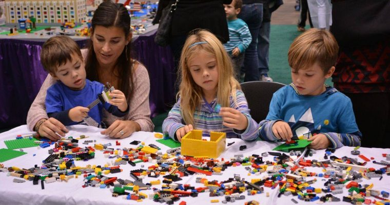 Kids will always have fun at Brick Fest Live!