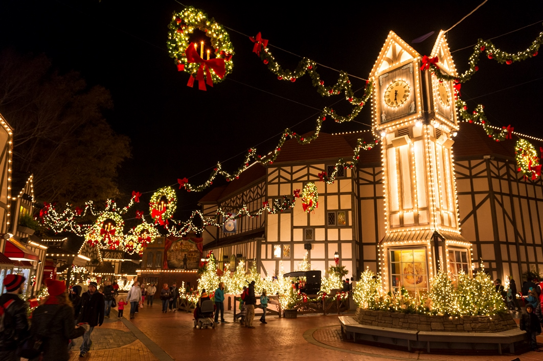 Tis The Season To Celebrate 10 Magical Years at Busch Gardens Christmas Town!