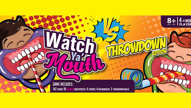 Family Game Night Won't Be The Same Again with Watch Ya Mouth!