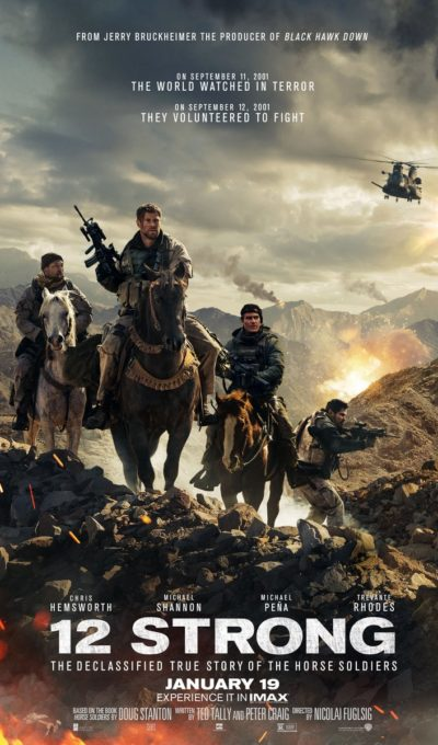 Get Excited to See 12 Strong Coming soon to Theaters on Jan 19!!! See my Review and Score Tickets to Take a Friend Giveaway!