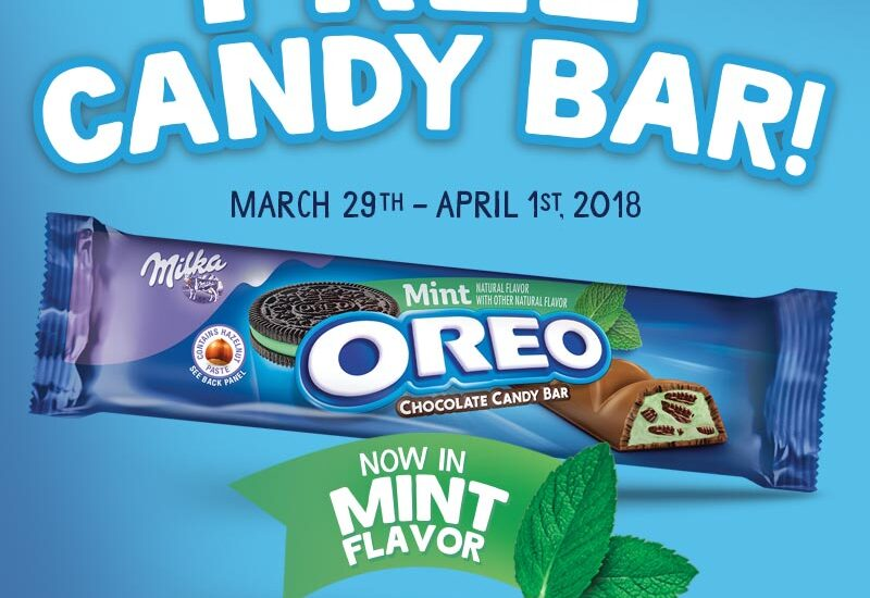 Make This Spring Weekend Even Sweeter With a Free Candy Bar From OREO!!