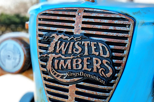 "Kings Dominion Debuts New ""Hybrid"" Roller Coaster Twisted Timbers"