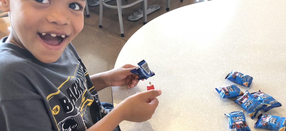 Shopping at Kroger is Fun with Marvel Micropopz!