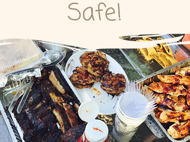 Eating Al Fresco At Your Summer Picnic or BBQ wit Helpful Tips From The Mommy Cooler's Kitchen
