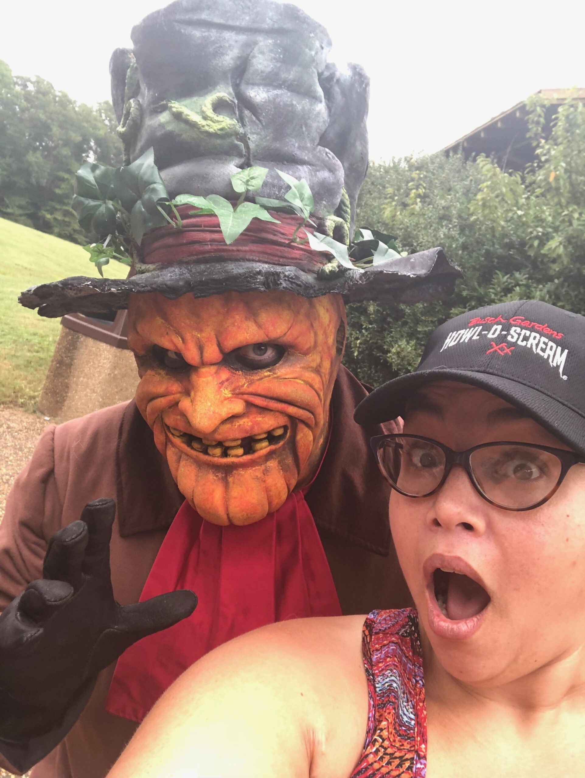 WE ARE READY FOR THE NEW SCARES AT BUSCH GARDENS®WILLIAMSBURG'S HOWL-O-SCREAM®  THIS FALL!