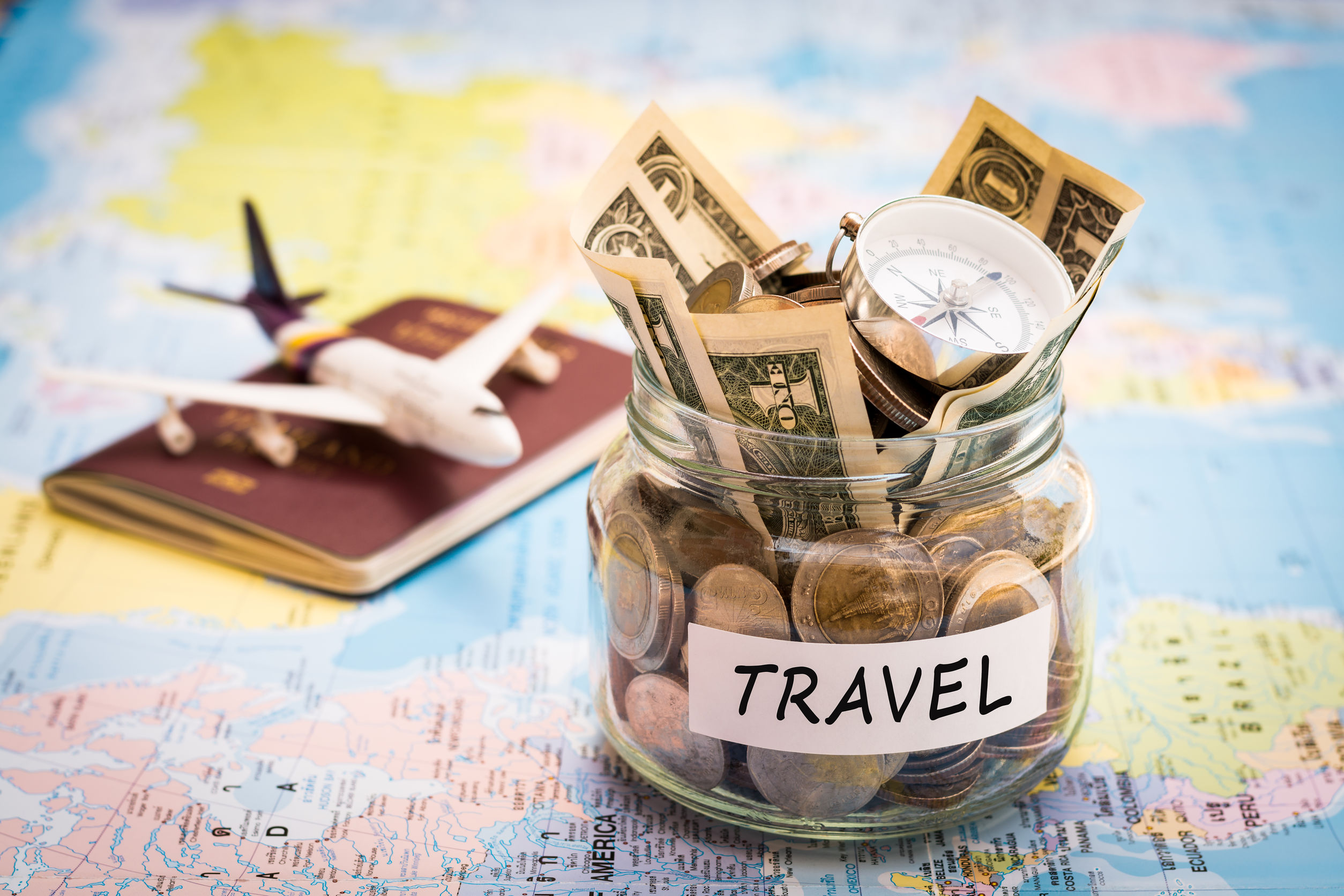 International Travel Plans? 4 Tips for International Travel on a Budget.