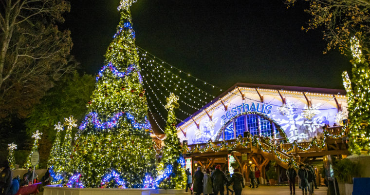 BUSCH GARDENS® WILLIAMSBURG'S CHRISTMAS TOWN™ LIGHTS UP THE HOLIDAYS