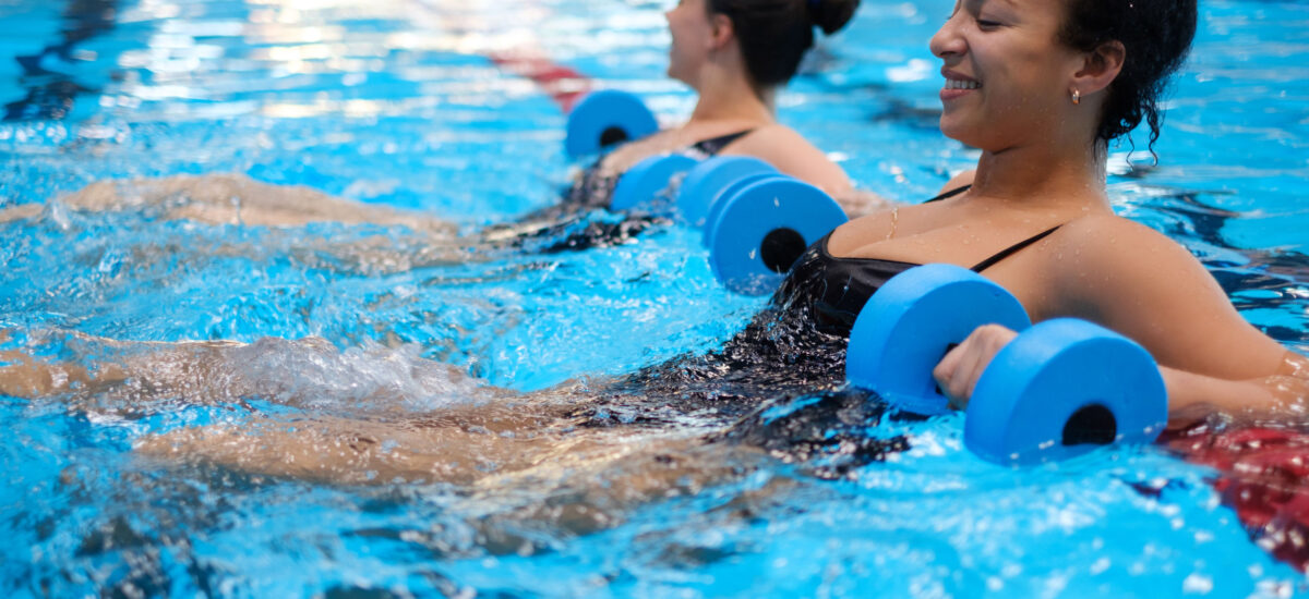 Easy-Peasy Pool Exercises to Kick Off Your Summer Workouts